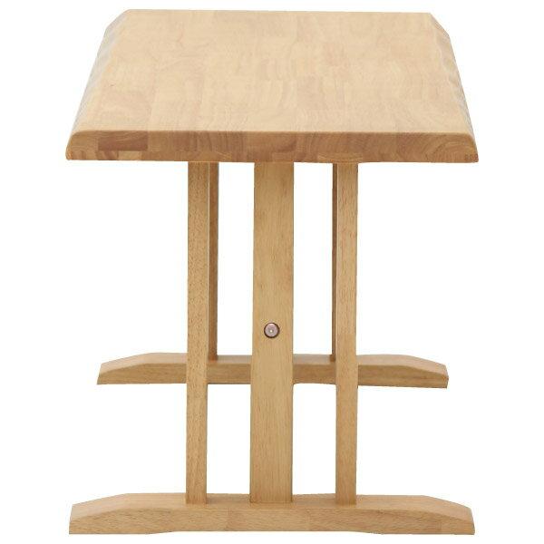 ◎(OUTLET)橡膠木質餐桌椅四件組 SAZANAMI 150 LBR 福利品 NITORI宜得利家居 6
