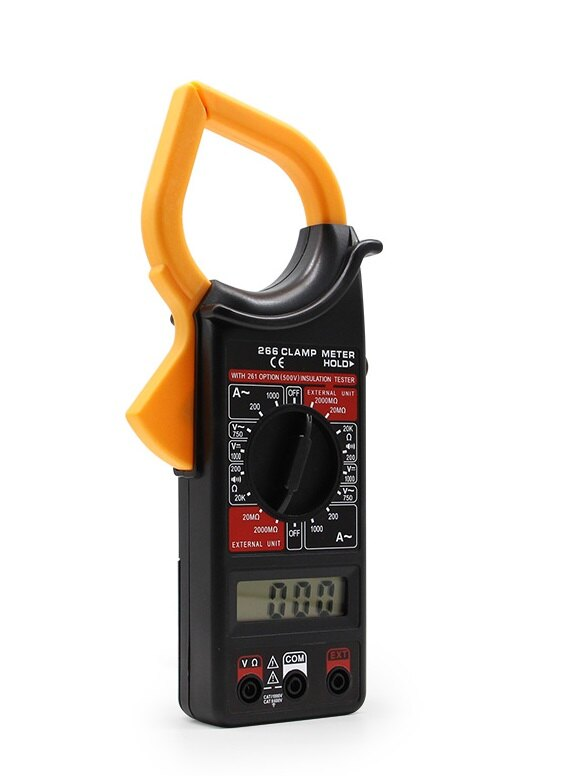 數字鉗形萬用錶 大電流萬用勾錶 電流表 測電流 蜂鳴萬能錶 顯示電流錶