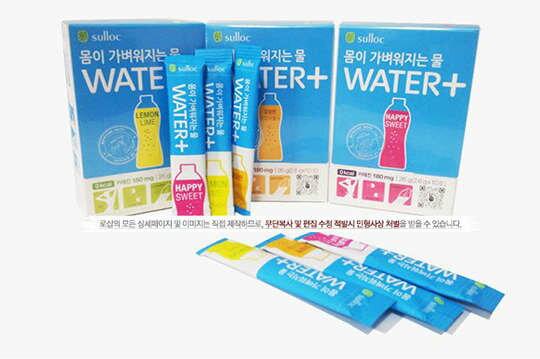 [明洞美妝時尚館]韓國超人氣【O'sulloc】WATER+健康纖體茶40包入(盒裝)