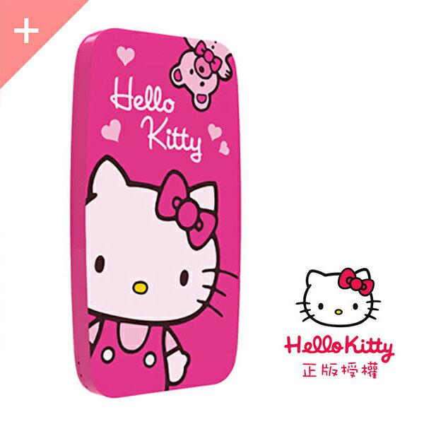 正版授權 Hello Kitty 輕薄款 5100mAh 台灣製造BSMI認證 【桃紅款】