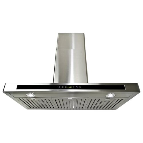"AKDY 36"" GV-H503A90CF Stainless Steel Wall Range Hood Carbon Filter Included For Ventless/Ductless Options 0"