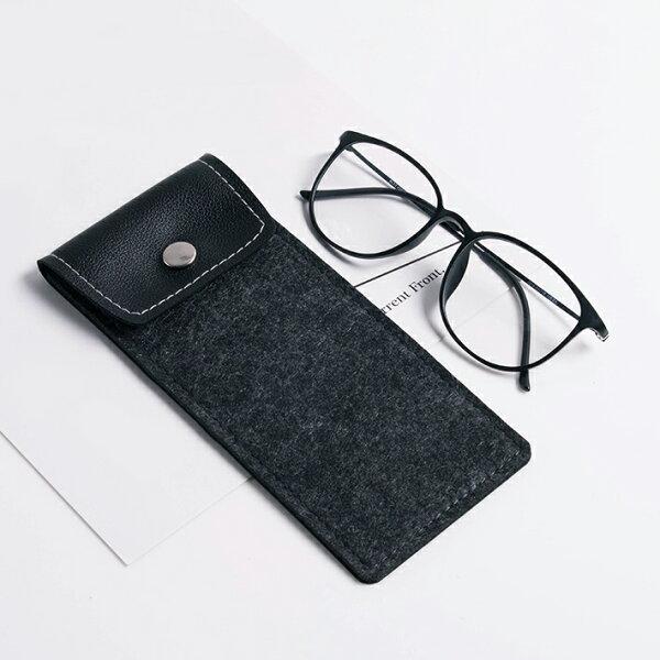 毛氈眼鏡夾片袋眼鏡袋TZ9027