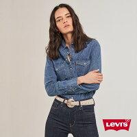 牛仔襯衫推薦到Levis 女款 牛仔襯衫 / 中藍水洗 / 春夏形象款就在LEVIS官方旗艦店推薦牛仔襯衫