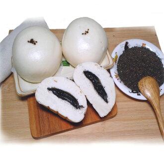【木子先生】白玉芝麻包子 饅頭(奶素)