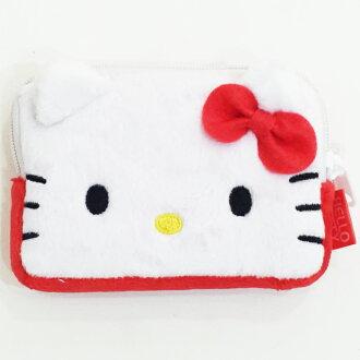 Hello Kitty 名片包 卡片包 票卡夾 收納包 零錢包 配件 正版日本進口 限定販售 * JustGirl *