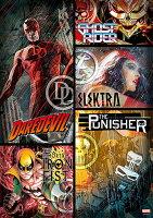 漫威英雄Marvel 周邊商品推薦HPM0108-009Marvel Knights Presents 漫威街頭英雄(1)拼圖108片