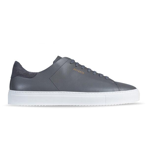 Axel Arigato:AxelArigatoCLEAN90深灰色皮革搭配白鞋底男鞋