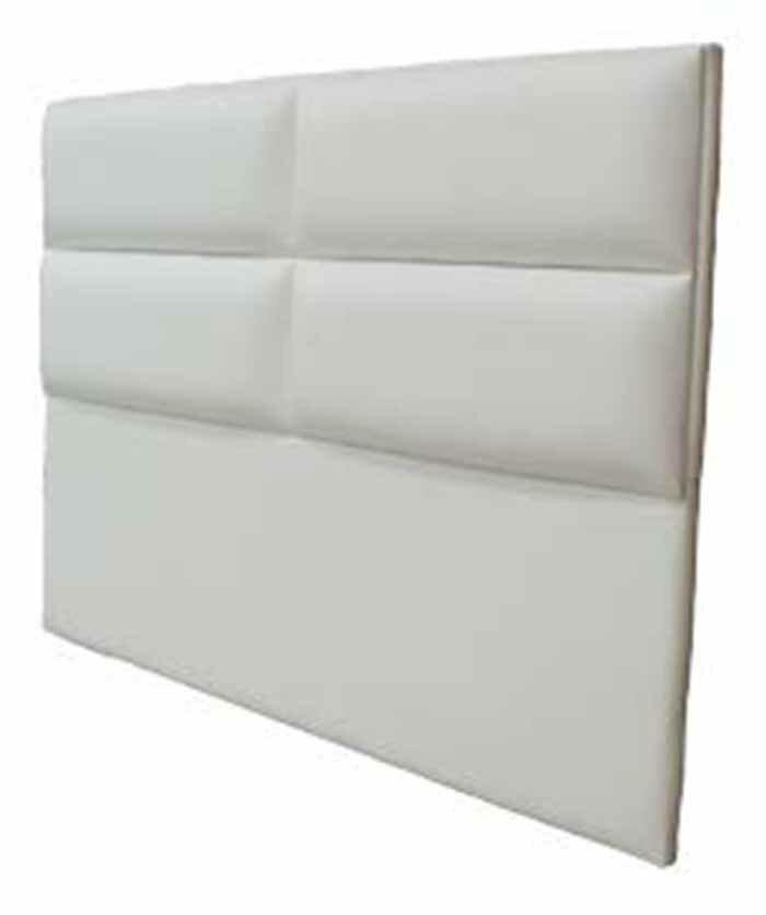 【尚品傢俱】JF-079-2 班尼頓5尺白皮雙人床頭片(不含床底)