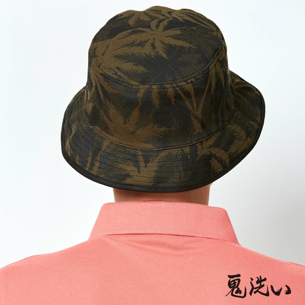 【精選配件】潮流鬼洗-草卉鬼洗雙面漁夫帽 - BLUE WAY ONIARAI 鬼洗 3