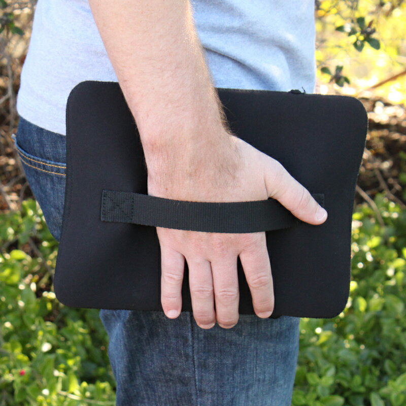 USA Gear FlexARMOR Neoprene Tablet Sleeve with Zippered Accessory Pocket , Handle & Durable Exterior 2