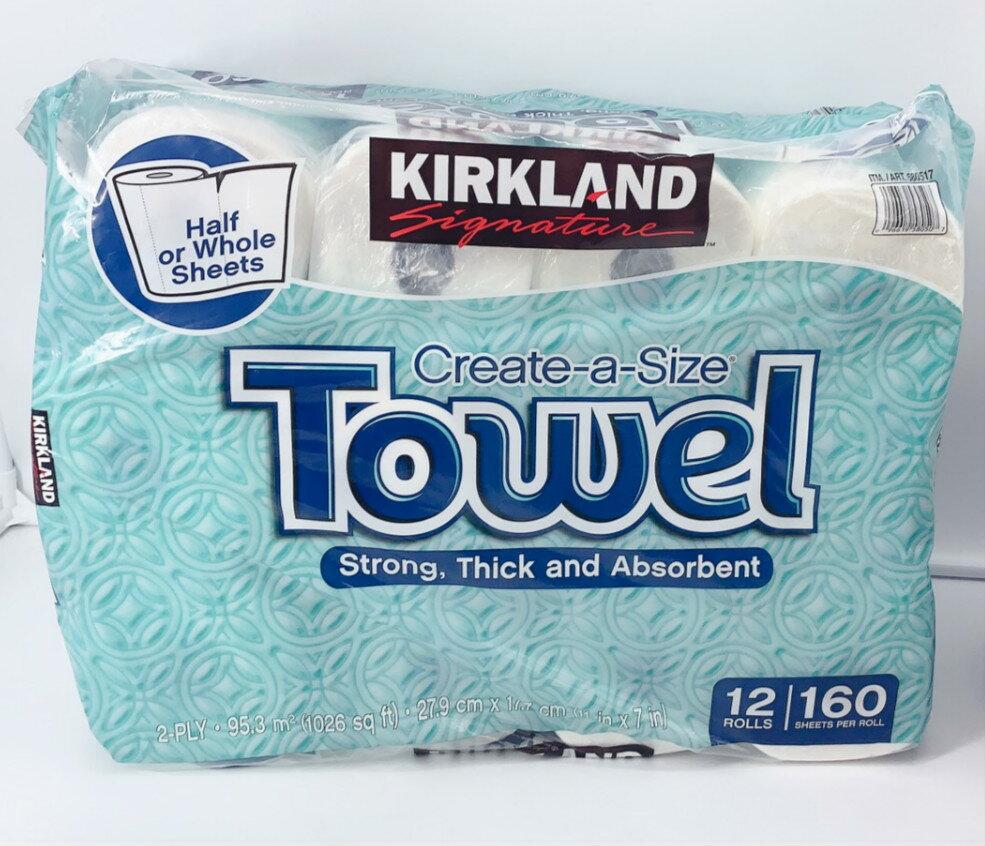 好市多 科克蘭 廚房紙巾 特級紙巾  一袋12捲 餐巾紙 限宅配 0