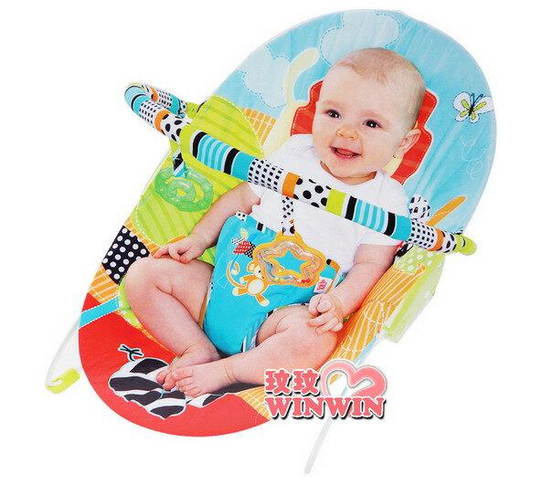 kids II-Bright Starts(KI60133)歡樂時光安撫躺椅玩具組,搖籃座椅提供寶寶舒適空間