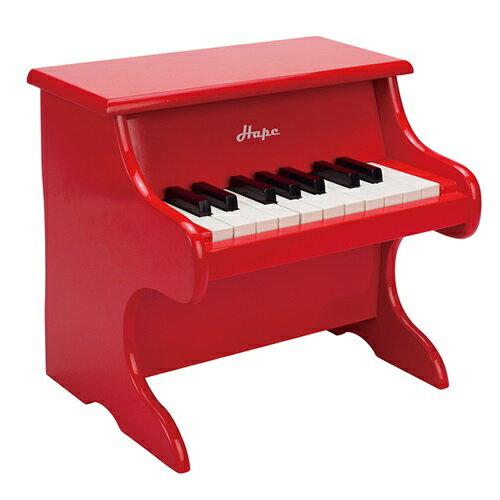 【免運費】《 德國 Hape 愛傑卡》音樂小鋼琴 - 紅