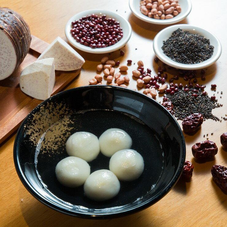 【湯圓五小福 15入 】 花生、黑芝麻、紅豆、棗泥、芋頭綜合