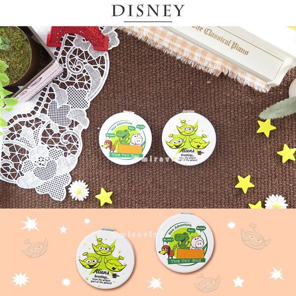Disney迪士尼玩具總動員圓型折鏡雙面鏡_插畫風