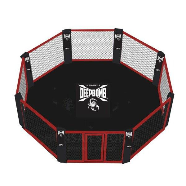[古川小夫]DEEPBOMB戰隊認證比賽訓練擂台UFC經典頂級專業MMA賽事場地專業健身房必備~五米x五米八角格鬥擂台