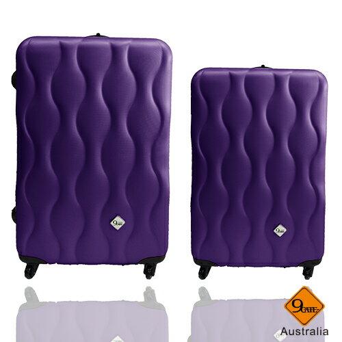 ✈✈Gate9波西米亞系列ABS霧面輕硬殼28吋+20吋旅行箱 / 行李箱 3
