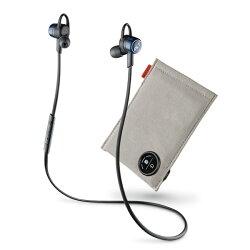 《育誠科技》『Plantronics BackBeat GO3+充電包 丹寧藍/黑色 精裝版』繽特力耳道式音樂藍牙耳機藍芽3.0/HD/防潮防汗/電量顯示/另售jabra rox