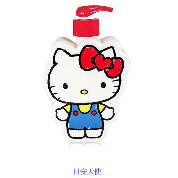 ☆Hello Kitty☆凱蒂貓『40週年限定』插畫風造型SPA禮盒(2造型沐浴公仔) 附Kitty櫻花精美紙提袋 1