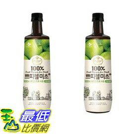 [COSCO代購 如果沒搶到鄭重道歉] 韓味不二 青蘋果果醋 900毫升 X 2入 W108984