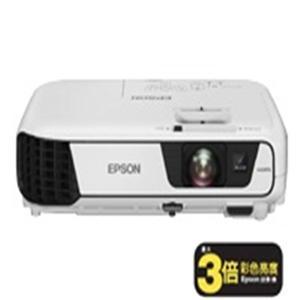 EPSON EB-X31 液晶投影機 白色亮度/彩色亮度3200流明,XGA。EB-X31投影機支援筆記型電腦及智慧裝置APP投影