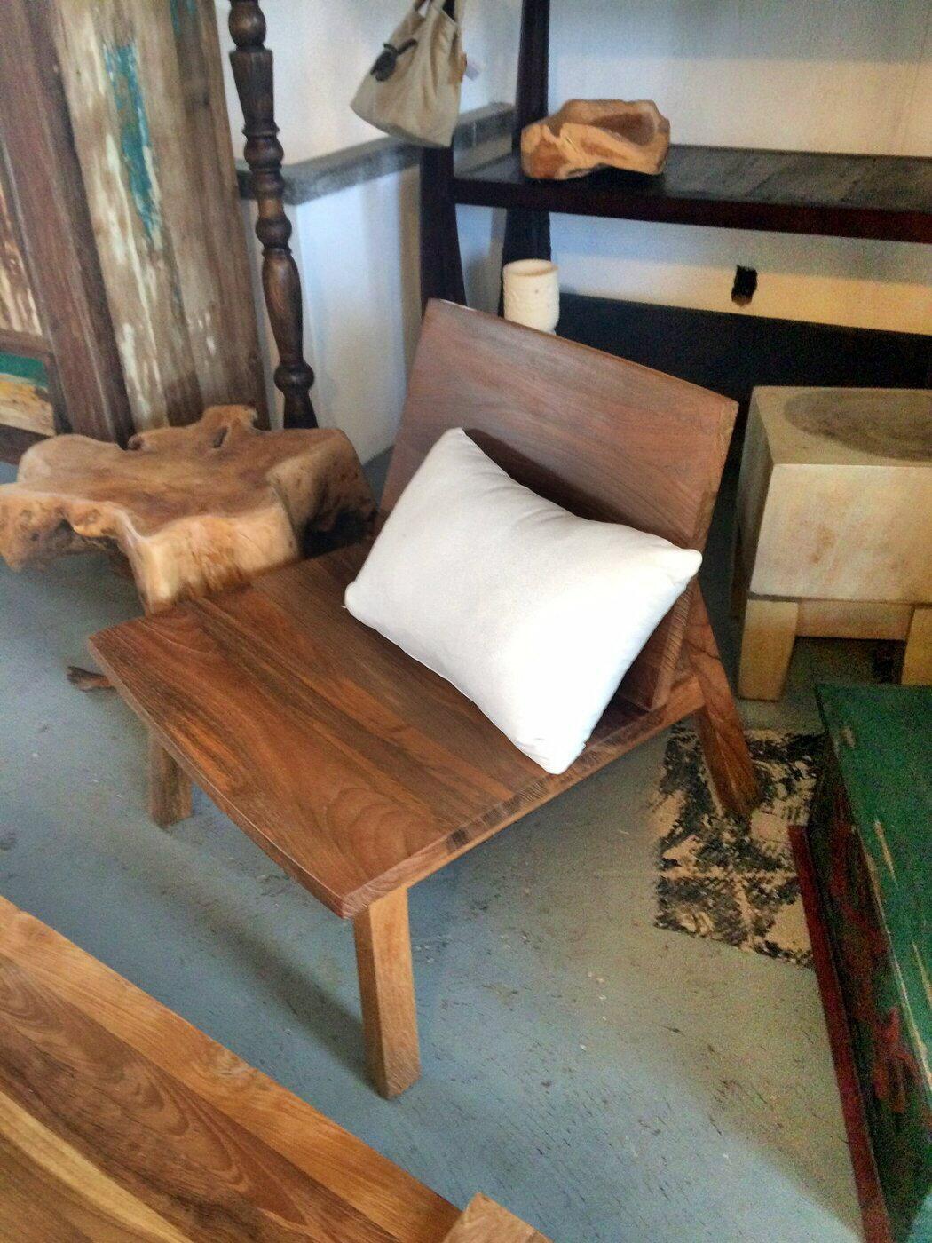CLEO 老柚木單人椅 Lounge Chair (L60 W64 H68 cm)