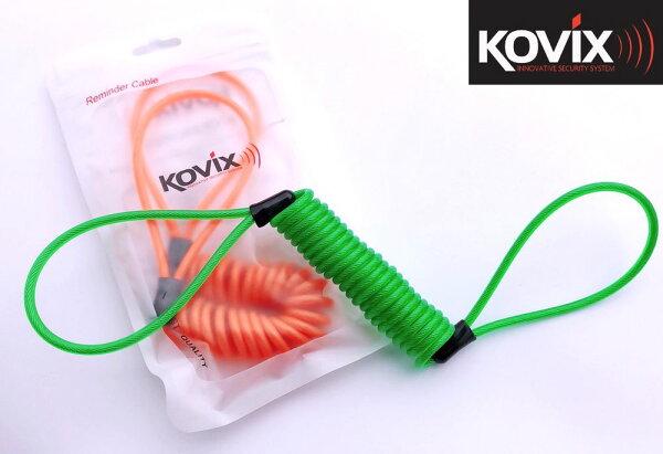 鑫晨汽車百貨:KOVIX原廠提醒繩(橘綠)適用碟煞.大鎖上鎖後提醒