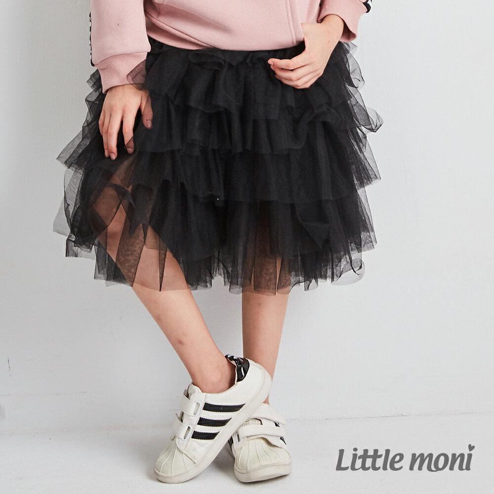 Little moni 網紗蛋糕裙-黑色(好窩生活節) 1