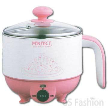 【珍昕】極緻316不銹鋼美食鍋1.0L~2色可選(粉紅.水籃)/美食鍋