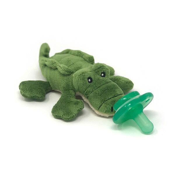 美國 nookums 安撫奶嘴玩偶/固齒器 鱷魚先生