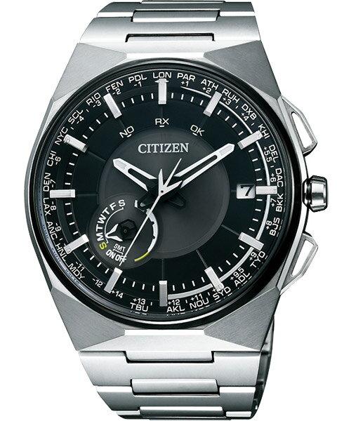 CITIZEN星辰CC2006-53E形象光動能衛星腕錶/黑面45mm