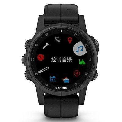 【免運】GARMIN fenix 5S Plus 複合式運動GPS音樂心率腕錶 贈日本SASAKI運動毛巾 2