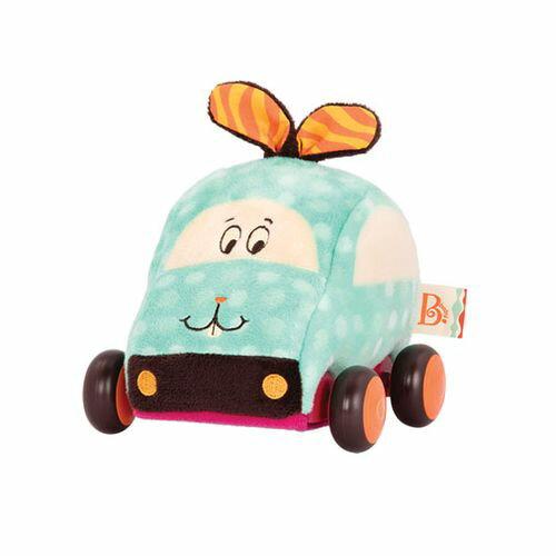 美國【B.Toys】酪梨兔迴力車BX1539Z★衛立兒生活館★