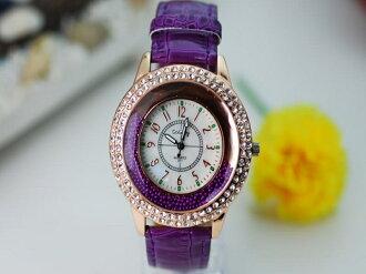 《316小舖》【PG06】(時尚石英手錶-流沙珠錶-單件價 /女生手錶/生日禮物/韓版手錶/流行女錶/水鑽手錶/PU皮質手錶/韓系手錶)