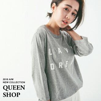 Queen Shop【01035964】LAVIE DREAM九分袖上衣 兩色售*現貨+預購*