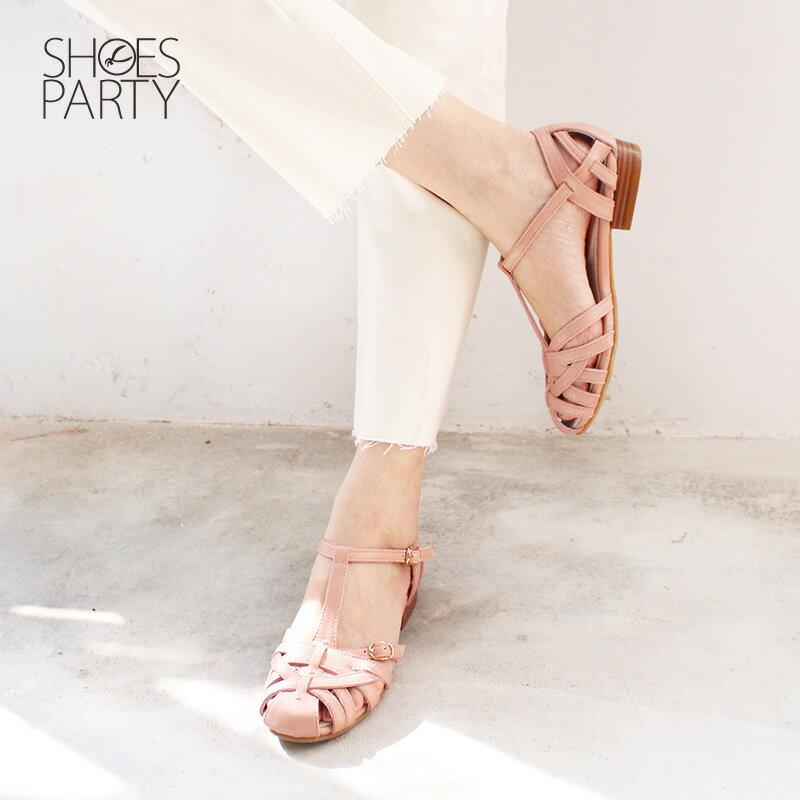 【S2-18514L】SP經典復刻版手工編織涼鞋_Shoes Party 3