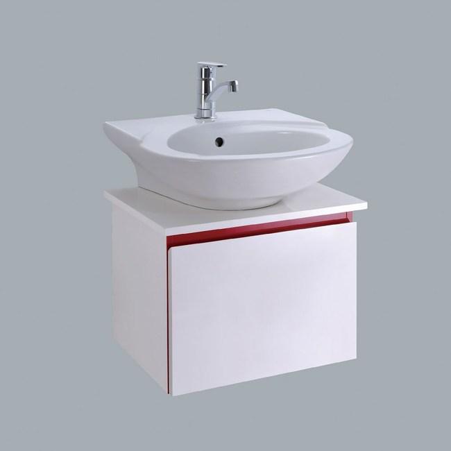 HCG臉盆浴櫃/不含水龍頭/L333SAdbR+LCS3405