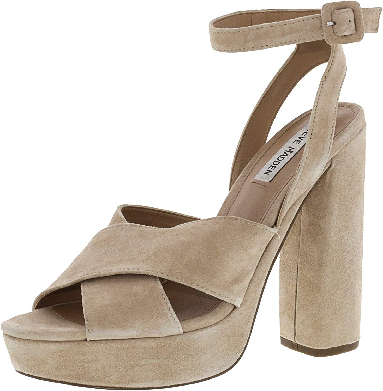 05fcf69ce6c PairMySole  Steve Madden Womens jodi Open Toe Ankle Strap Classic ...