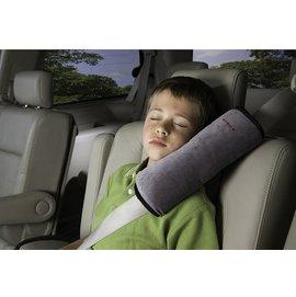 【淘氣寶寶】Diono安全帶靠枕汽車安全帶專用靠枕(灰)【外出旅遊也能有優質的睡眠】