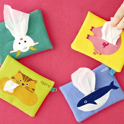 繽紛動物小物包  零錢包  面紙包 ◤apmLife 雜貨◢