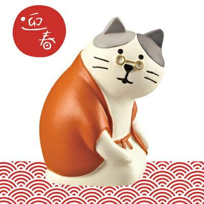 日本Decole 貓咪新春擺飾