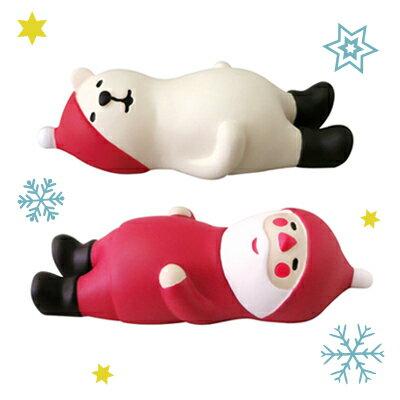 Decole聖誕擺飾 耶誕團聚歡樂派對~飯後休憩^(聖誕老人^)^(北極熊^) ^(聖誕節