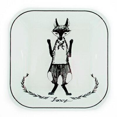 奇幻森林最佳拍檔方型餐盤 ◤apmLife生活雜貨◢