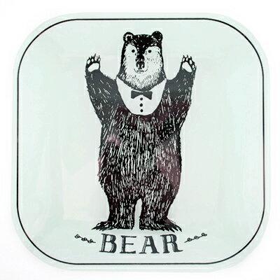 奇幻森林熊熊家族方型餐盤 ◤apmLife生活雜貨◢