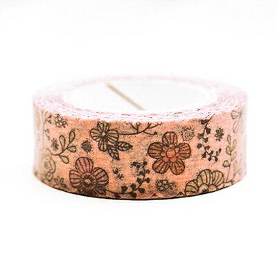 復古奢華花朵香氛紙膠帶 ◤apmLife生活雜貨◢