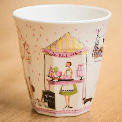 歐風秋色街頭市集水杯 ◤apmLife生活雜貨◢