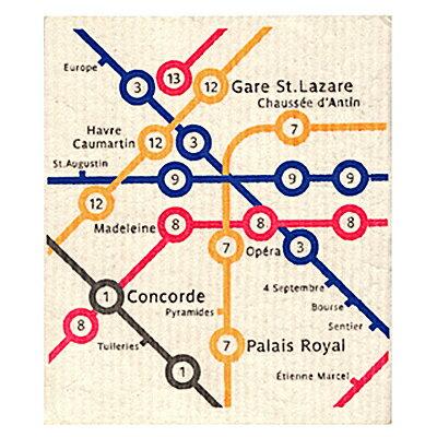 時尚國度巴黎地鐵吸水拭布 ◤apmLife生活雜貨◢