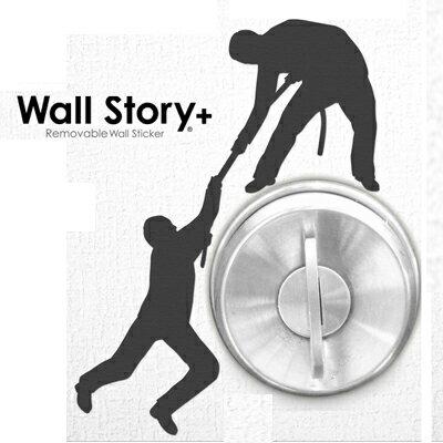 wall story 趣味 壁貼~加強靜電系列 ◤apmLife 雜貨◢
