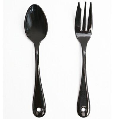 典雅炫黑琺瑯午茶餐具 ◤apmLife生活雜貨◢