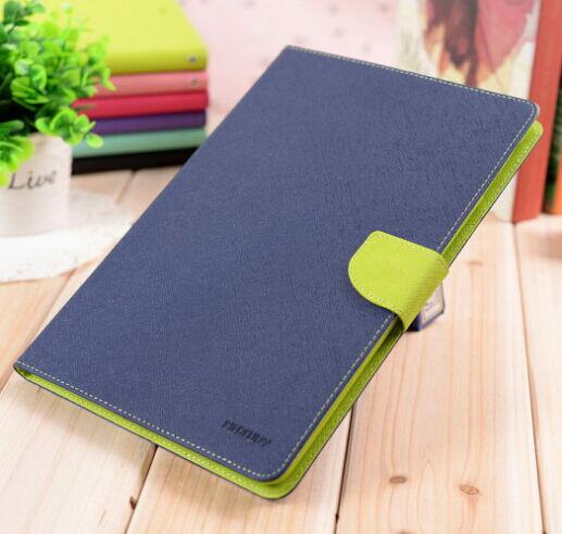 三星Galaxy Tab S2 9.7吋 T815平板保護套 韓國MERCURY GOOSPERY雙色皮套 T810 撞色支架插卡皮套【預購】
